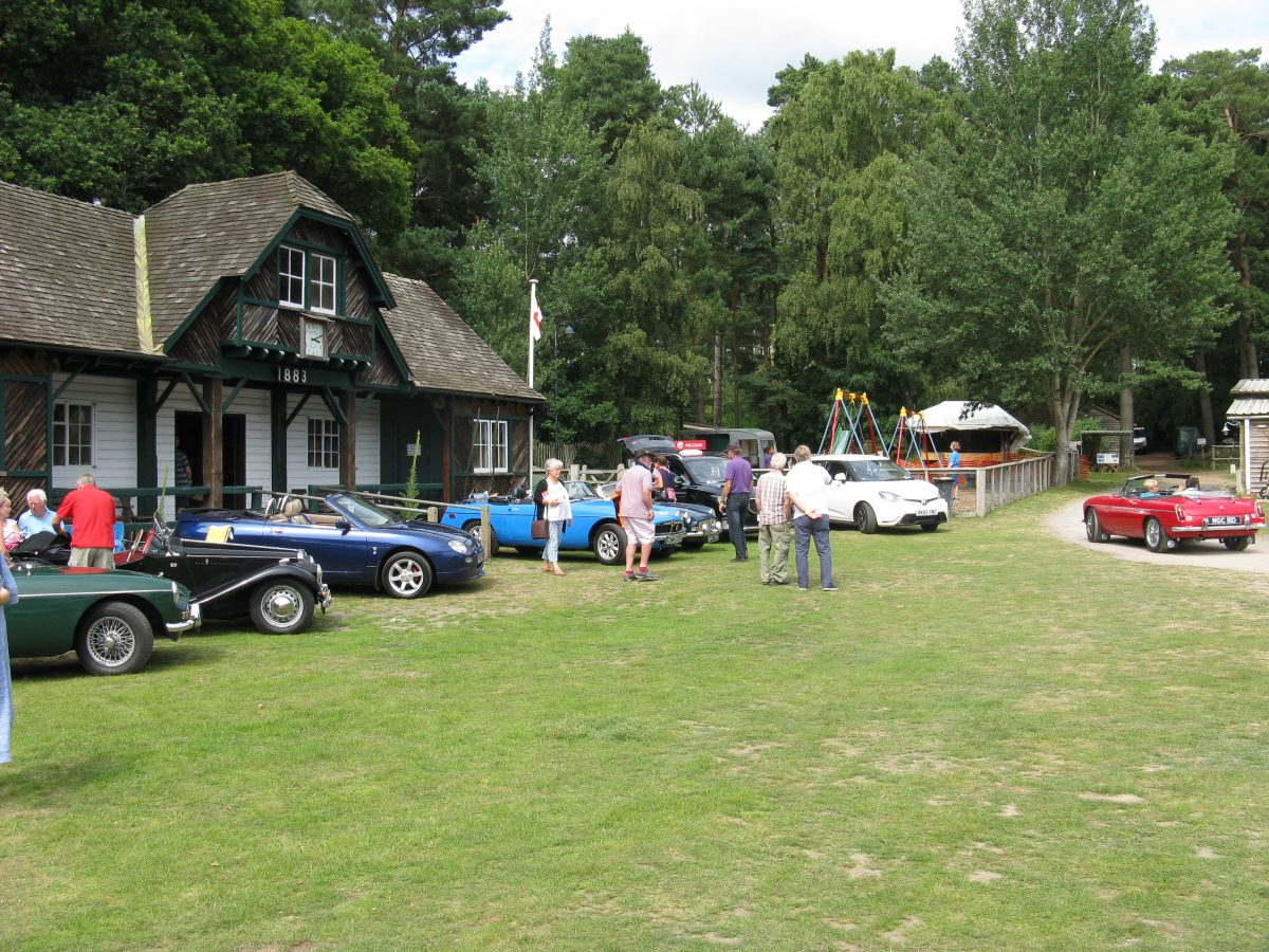 Surrey Run, Epsom MG Owners Club, MG Event, Rural Life Centre, Farnham